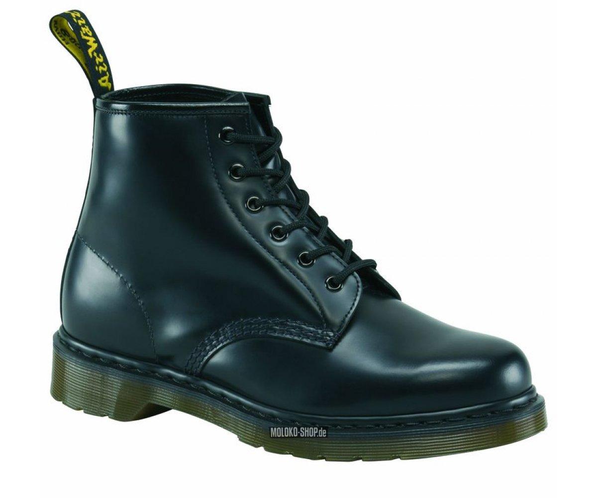 Black Leather Kustom Shoes