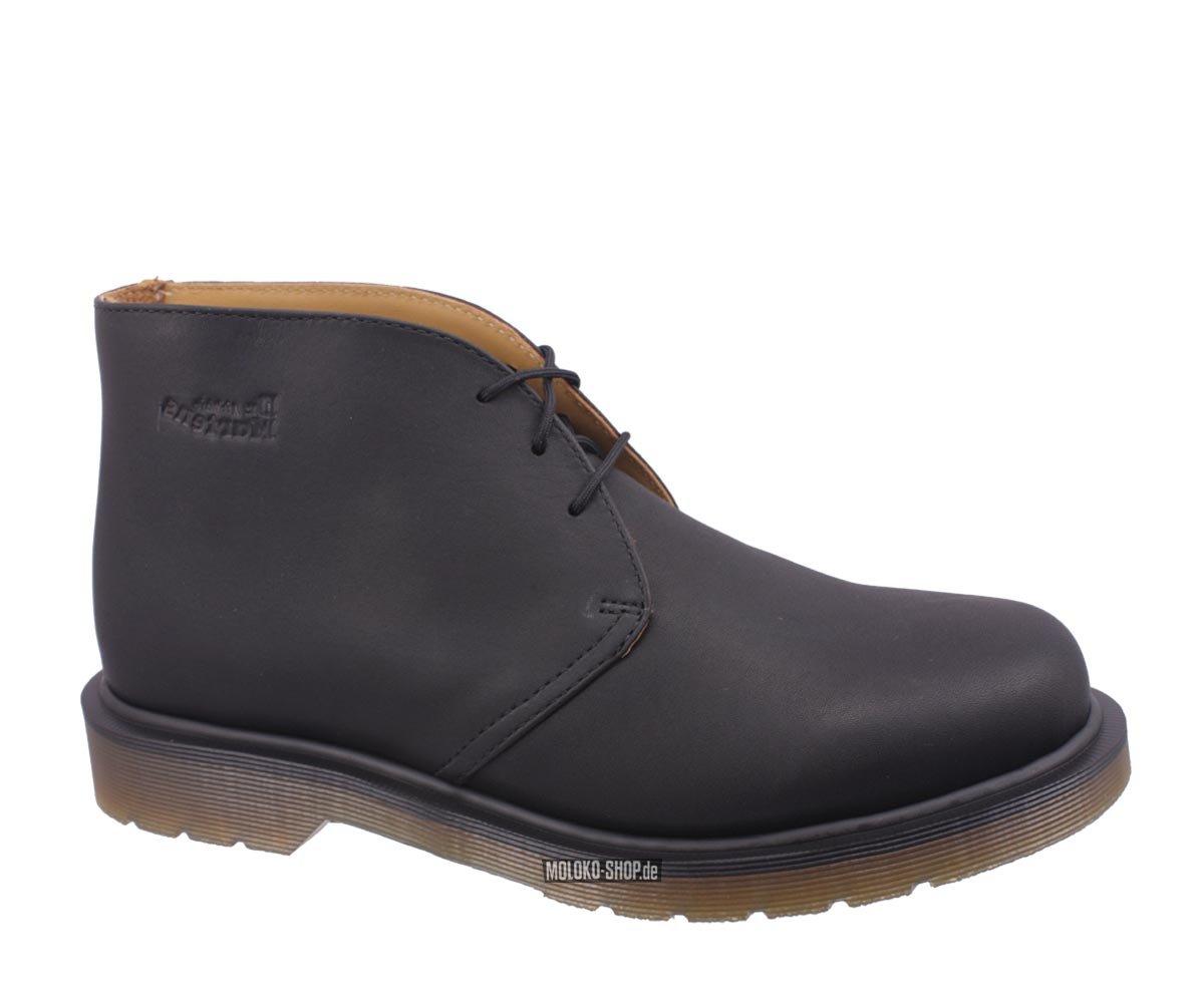 dr martens 3 eye chukka boots black sch ne halbschuhe. Black Bedroom Furniture Sets. Home Design Ideas