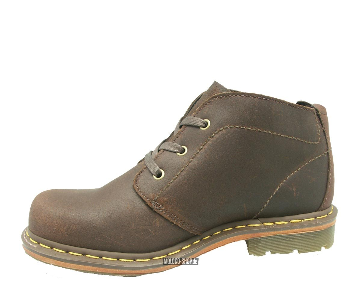 dr martens 3 loch halbschuhe chukka brown boots von doc. Black Bedroom Furniture Sets. Home Design Ideas