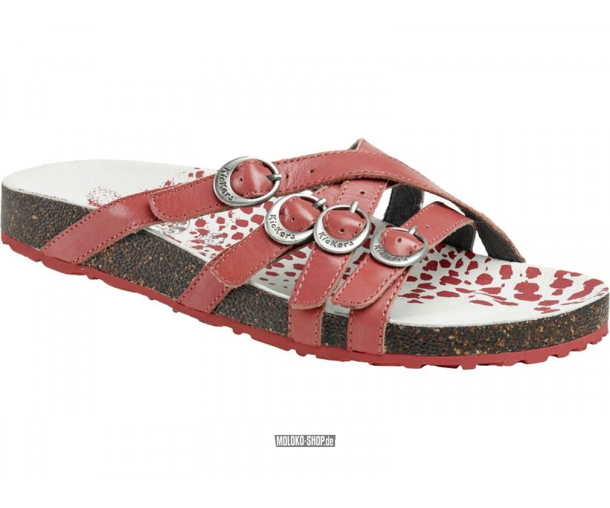 kickers sandale magnekic rose corail 015282 5013. Black Bedroom Furniture Sets. Home Design Ideas