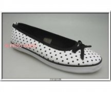 Ballerinas Polka Dots white/black Eur 39 (UK6)