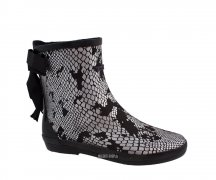 Colors Of California Neopren Boots Snake Silver