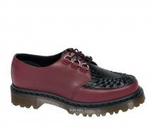 Dr. Martens 3 D-Ring Ramsey Croco Cherry+Black