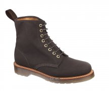 Dr. Martens 8 Eye Windsor Lark Dark Brown
