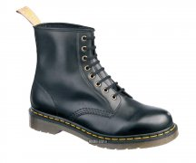 Dr. Martens 8 Eye Vegan Felix Rub-Off Black