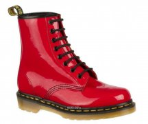 Dr. Martens 8 Loch 1460 Red Patent Lamper 11821606