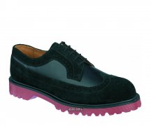 Dr. Martens Brogue Shoe Black/Suede/Whitney
