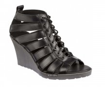 Dr. Martens Elevate Mona Strappy Sandals Black