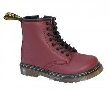 Dr. Martens Kids Brooklee Cherry Red