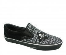 Draven Slip Ons Cannonball black/grey