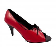 Funtasma Two Tone Pump Red Black
