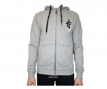 Iron Fist Hooded Zipper Heritage Applique