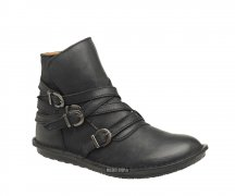 Kickers Ankle Boot Wraps Black