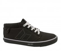 Macbeth Hensley Dark Grey/White Canvas
