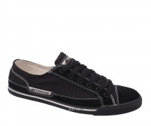 Macbeth Matthew Suede/Canvas black/black