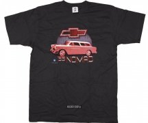 T-Shirt Chevrolet 55 Red Nomad