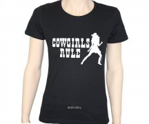 T-Shirt Cowgirls Rule