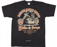 T-Shirt Mechanic Shop + Bobber Garage