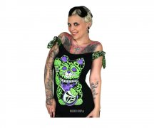 Too Fast Talulah Tee - Punk Kitty