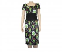 Too Fast Wench Dress - Zombie Wood