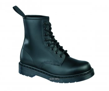 Dr. Martens 8 Eye Black Monochrome