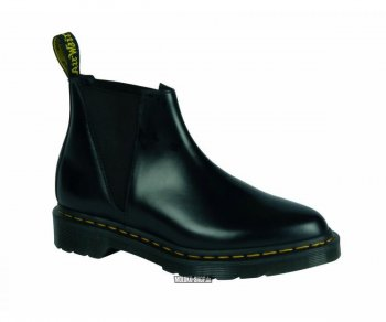 Dr. Martens Slip On Bianca Black Polished Smooth 21603001