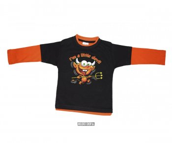 Kinder Raglan Longsleeve Little Devil