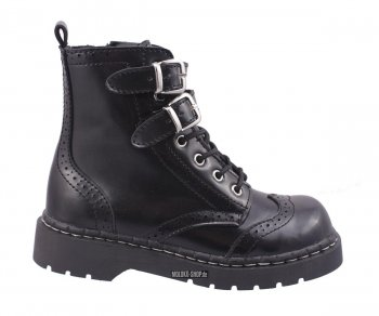T.U.K. Boots T2174 Anarchic Top Buckle Strap Time Bandit