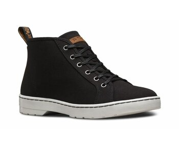 Dr. Martens 6 Loch Coburg Black Tan 120z Waxy Canvas Eur 42 (UK8)