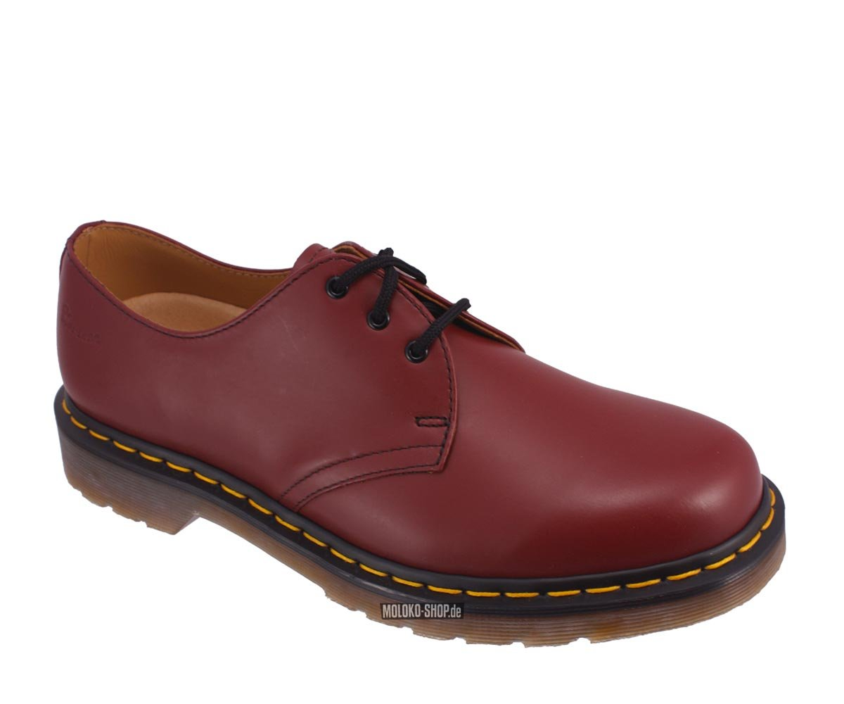 dr martens 3 eye cherry red boots rote doc martens 3. Black Bedroom Furniture Sets. Home Design Ideas