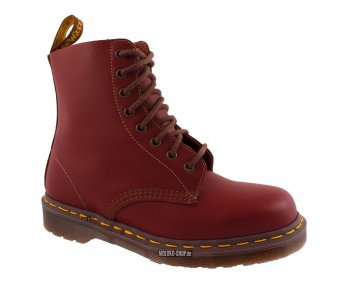 Dr. Martens 8 Loch 1460  Oxblood Vintage Quilon Made in England