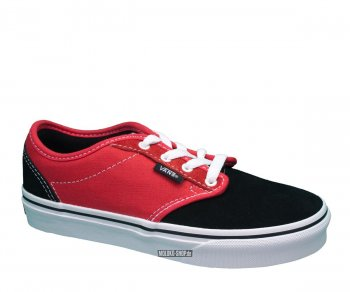 Vans Atwood Black Red 09651edc556f