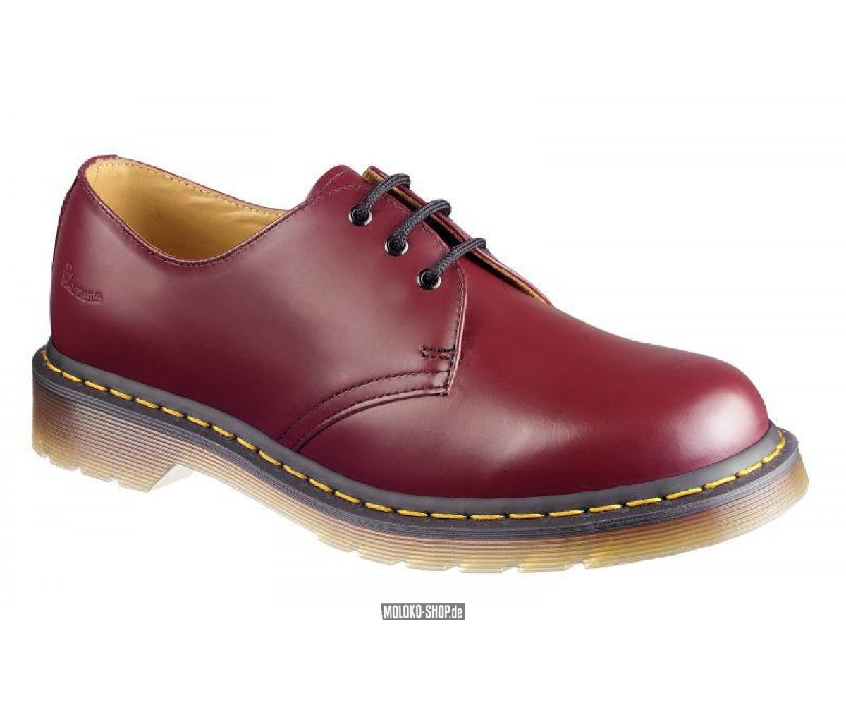 Cherry Red Martens Shoes