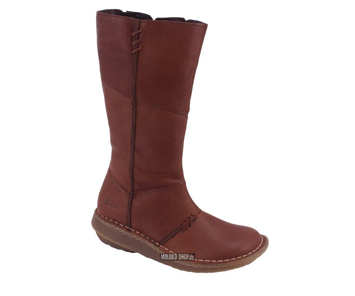 Dr Martens High Leg Boots Brown Eleganter Stiefel Mit