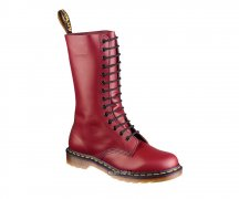 Dr. Martens 14 Loch 1914 Cherry Red Smooth 11855600