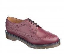 Dr. Martens 5 Loch 3989 Brogue Cherry Red Smooth