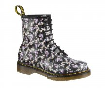 Dr. Martens 8 Loch 1460 Lotti Black Flowers 11821010