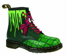 Dr. Martens 8 Loch 1460 Hero Turtles Raph DMS Green T...
