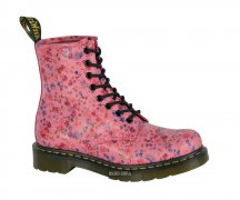 Dr. Martens 8 Eye Acid Pink Little Flowers