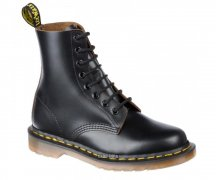 Dr. Martens 8 Loch 1460 Black Vintage Quilon Made in England