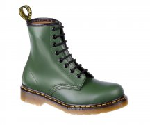 Dr. Martens 8 Eye 1460 Green Smooth 11822207