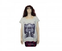 Iron Fist Girl Portal Slouch Tee