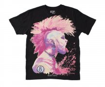 Iron Fist T-Shirt Man Tank Girl S/S Tee Black