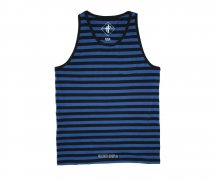 Iron Fist Tank Stripes Blue
