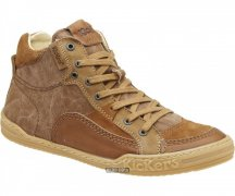 Kickers Ankel Boot Jigger Marron  Tonga  Canvas 277541-609