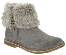 Kickers Stiefeletten Crepon 2 Gris  Bear Brash + Fourrure...
