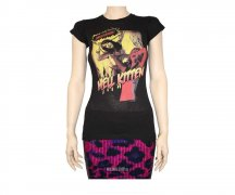 Sourpuss T-Shirt Hell Kitten