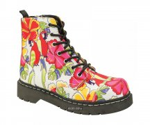 T.U.K. Boots T2230 Anarchic 7 Eye In Parrot Tropical...