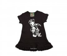 Too Fast BABY/TODDLER DRESS - Voltair Dead Bear
