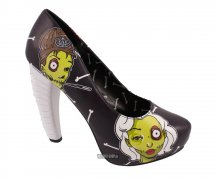 Too Fast Zombiewood Spineless Heel